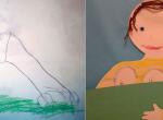 Ártatlan gyerekrajzok, amik valami egészen másnak látszanak - Fotók