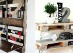 Így lehet egy raklap a lakásod éke - 5+1 kreatív trükk, amitől meglepően stílusos lesz az otthonod