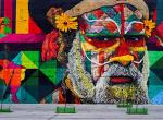 Egy évig készítették a világ legnagyobb falfestményét a Riói Olimpiára - Nézd meg, milyen lett!