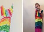 Divatszenzáció! Így tervezheti meg a kislányod a saját ruhakollekcióját