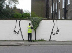 Így lehet bevonni a természetet az utcai művészetbe - A legötletesebb street-art firkák