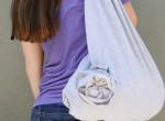 Videó: így csinálj a megunt pólódból menő táskát