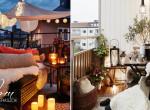 15 apró balkon, ami bizonyítja, hogy a kicsi is lehet álomszép