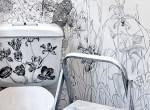 Így lesz az unalmas mosdóból színes álomvilág - Csak egy kis kézügyesség kell hozzá