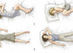Te milyen pózban alszol? Ezt árulja el rólad