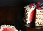 """Sütés nélküli """"dinnyetorta"""" lehet az idei nyár slágere - Ötletes, egyszerű és igazán finom"""