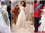 Minden idők 7 legdrágább celeb-menyasszonyi ruhája