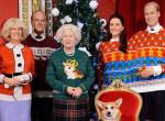 Nevetség tárgyává vált az egész királyi család - Rémes karácsonyi pulcsikban kapták le őket