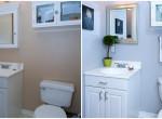 Előtte-utána fotók 4 hihetetlen fürdőszoba-átalakításról – Így lesz apró lyukból stílusos otthon