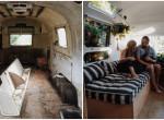 Előtte-utána fotók: luxusotthont varázsoltak a lepukkant lakókocsiból