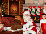 A Mikulás is elsírja magát: 10+1 kínos karácsonyi fotó