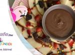 Alma nachos mogyoróvajas csokiöntettel – minden ujjad megnyalod utána