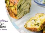 Zöld pesztós babka fenyőmaggal - egy izgalmas izraeli kalács