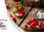 Túrókrémes olasz bruschetta - friss falatok, nem csak reggelire