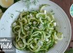 Kapros-fetasajtos cukkini saláta