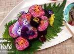 Színes, zöldséges sushi - Egy falat nyár