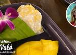 Isteni thai édesség: Ragacsos rizs, édes mangóval