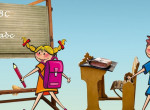 Így válassz iskolatáskát, hogy megóvd a gyerek hátát és gerincét