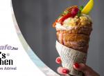 Kürtőskalács tölcsér fagyival töltve - A vásárok legnagyszerűbb édesége, amit otthon is el tudsz készíteni