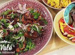 Gyönyörű színek, gazdag íz: Tandoori csirke datolyás rizzsel, mangósalátával