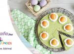 Limeos-avokádós torta sárgabarackkal