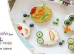 Vidám reggeli : Kreatív szendvicsek gyerekeknek