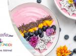 Egzotikus joghurt tál