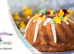 Vaníliás-kakaós húsvéti kuglóf