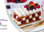 Málnás mille-feuille - Ilyen esős-ernyős napon nincs is finomabb egy házi készítésű káprázatos francia desszertnél