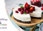 Oreo sajttorta meggymártással - Egy könnyű finomság a meleg napokra