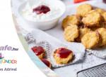Fehérliszt mentes sajtos pogácsa - A diétázók imádni fogják!