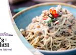 Gorgonzolás spagetti dióval és csirkével - Ó, az a bizonyos#olaszkonyha!