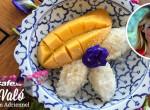 Thaiföldi finomság: Ragacsos rizs, édes mangóval