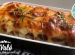 Olasz mámor: cannelloni grillezett zöldséggel és mozzarellával