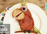 Papagáj szendvics reggelire – gyerekjáték elkészíteni