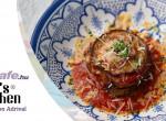 Parmigiana melanzane - az olasz rakott padlizsán