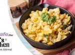 Klasszikus tojásos nokedli ecetes friss salátával - Fenséges és magyaros