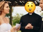 Olyan ruhában ment a nő a fia esküvőjére, hogy a pap is belepirult