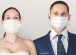 Ez aztán nem semmi! Ez a pár elképesztően ötletesen megoldotta a karantén-esküvőjét
