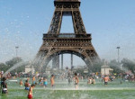 Franciaország történetében először adtak ki vörös riasztást: Fotókon a pusztító hőség