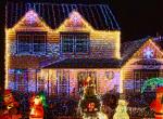 Ez a család 'kimaxolta' a karácsonyi dekoráció fogalmát - Fotók