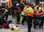 Állomásba csapódott egy vonat Barcelonában, rengeteg a sérült