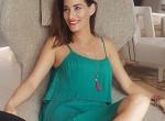 Falatnyi bikiniben mutatta meg gömbölyödő pocakját Görög Zita