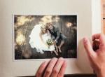 Esküvői fotóit nézte a menyasszony, elájult attól, amit kiszúrt rajtuk