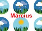 Ilyen időjárásra számíthatunk március végéig