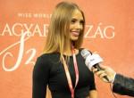 Így készül a londoni Miss World világversenyre Nagypál Krisztina
