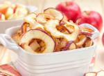 Alig van benne kalória: Így készül a tökéletes almacsipsz