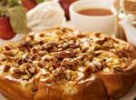 Leveles almás-vaníliás sütemény, ha gyorsan akarsz finomat