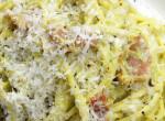 Avokádós carbonara spagetti: Ha az új évben elbúcsúznál a nehéz ételektől