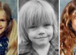 Sosem látott fotók - Már gyerekként is gyönyörűek voltak a világsztárok